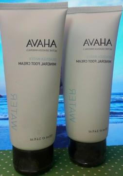 Ahava Deadsea Water Mineral Hand - Foot Cream or Body Lotion
