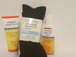 Diabetic Socks Foot Cream And Hand  Lotion for Dry Cracked S