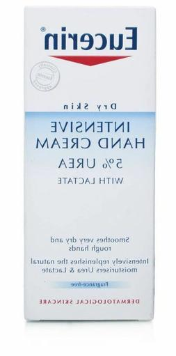 Eucerin Dry Skin Intensive Hand Cream 5% Urea with Lactate 7
