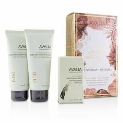 Ahava Elements Of Love Mud-Rich Moments 3 Piece Set NEW in B