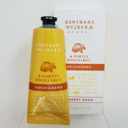 Crabtree & Evelyn Energising Hand Cream Therapy, Citron and