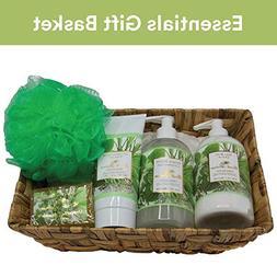 Camille Beckman Essentials Gift Basket, Vitamin E Unscented,