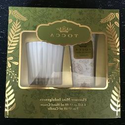Tocca FLORENCE Hand Cream & Candle Set 1.5 / 2 oz MINI INDUL