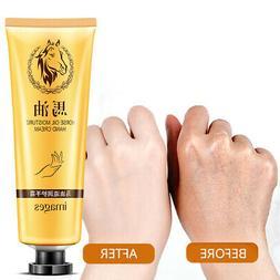 Foot Hand Cream Anti-Aging Horse Oil Dry Skin Care Peeling W