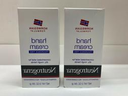 Neutrogena Fragrance Free Hand Cream Total of 2 - NET WT 2 O