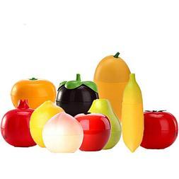 8Pcs/Lot Fruit Hand Cream Whitening Moisturizing Anti-Aging