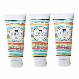 Dionis Goat Milk Hand Cream 3 Piece Travel Gift Set - Sea Tr
