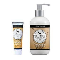 Dionis Goat Milk Body Lotion and Hand Cream 2 Piece Gift Set
