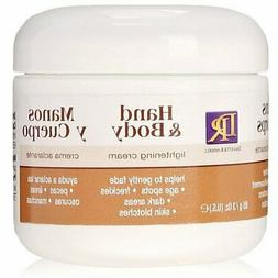 Hand & Body Lightening Cream Moisturizer Gently Fade Age Spo