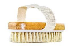 Hand Size Dry Brushing Body Brush - Face, Foot, Leg Exfoliat