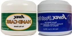 Savex 2 Pack Hand Care & Foot Care - Dry or Itching Foot Cre
