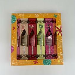 The Body Shop Hand Cream Crackers 6 Piece Gift Set
