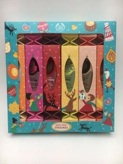 The Body Shop Hand Cream Crackers Gift Set, 6 Individually-P
