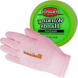 Hand Cream for Dry Cracked Hands Repair Gloves Bundle - Work