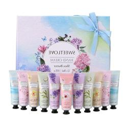 Hand Cream Gift Set, 12pc x 1floz Travel Size with Shea Butt