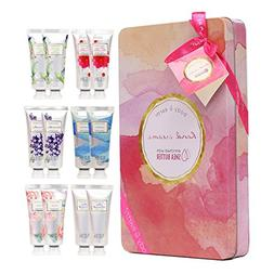 Hand Cream Gift Set, BODY & EARTH Hand Lotion for Dry Hands,