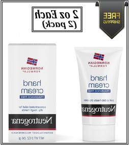 Neutrogena Hand Cream Norwegian Formula Fragrance Free 2oz