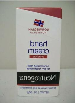 NEUTROGENA HAND CREAM ORIGINAL NORWEGIAN FORMULA NEW 2 OZ.