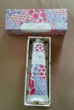 Library of Flowers Handcreme LINDEN 2.3 oz ~New In Box~