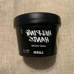 Lush Helping Hands Hand Cream Lotion Vegetarian 3.5oz New