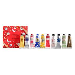 L'Occitane Holiday Hand Cream 10-Piece Set, Various Scents