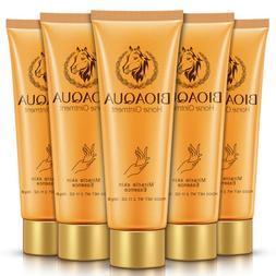 Horse Oil Foot Hand Cream Anti-Aging Dry Skin Care Peeling R