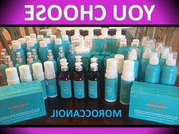 MOROCCANOIL HYDRATING MASK SHAMPOO CONDITIONER STYLING HAND