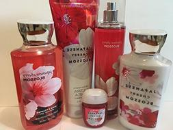 Bath & Body Works JAPANESE CHERRY BLOSSOM Deluxe Gift Set Lo