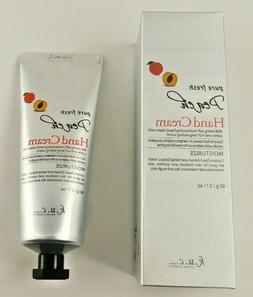 K.U.C  Pure Fresh Peach Moisturizing Hand Cream 2.11 oz.