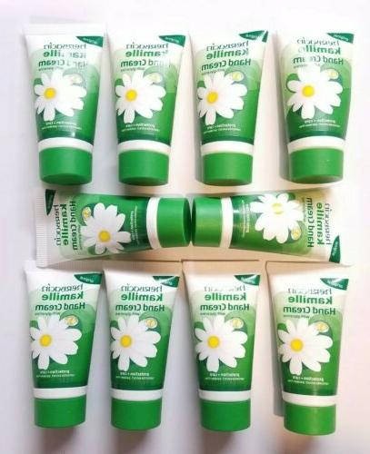 10 tubes of kamille hand cream by