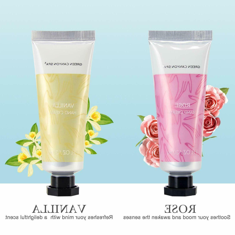 12 pcs Moisturizing Hand Cream Gift Women Travel Size