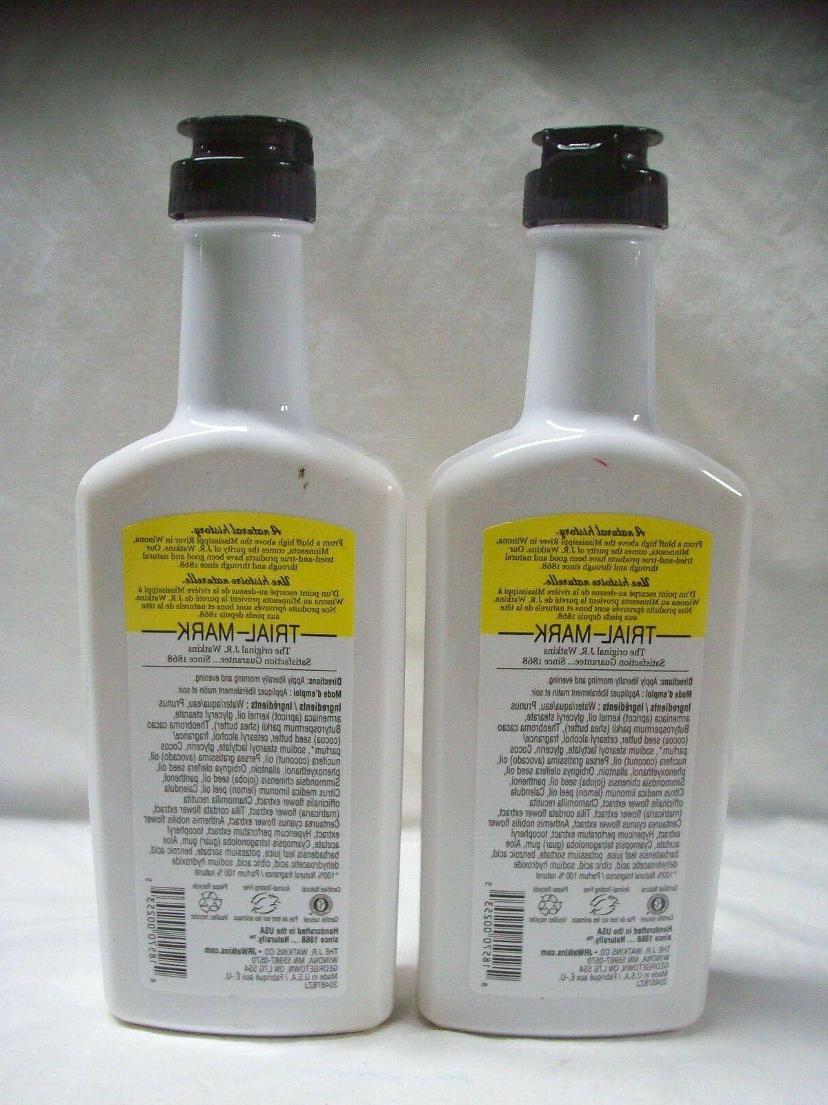 2- Watkins & Body Lemon Cream, 11 Fl.