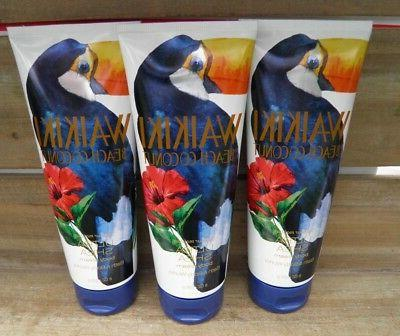 3 Bath Body Works Waikiki Beach Coconut