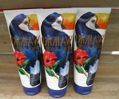 3 Works WAIKIKI HAND Body Cream Lotion NEW