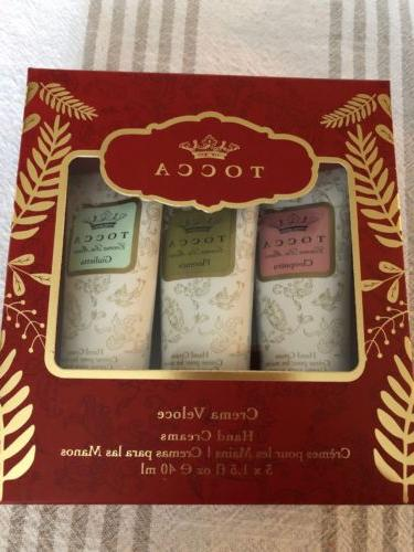 3pc crema quintette hand cream set 3