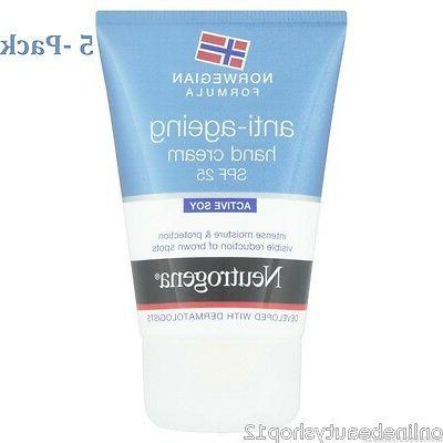 5 x norwegian formula anti ageing hand