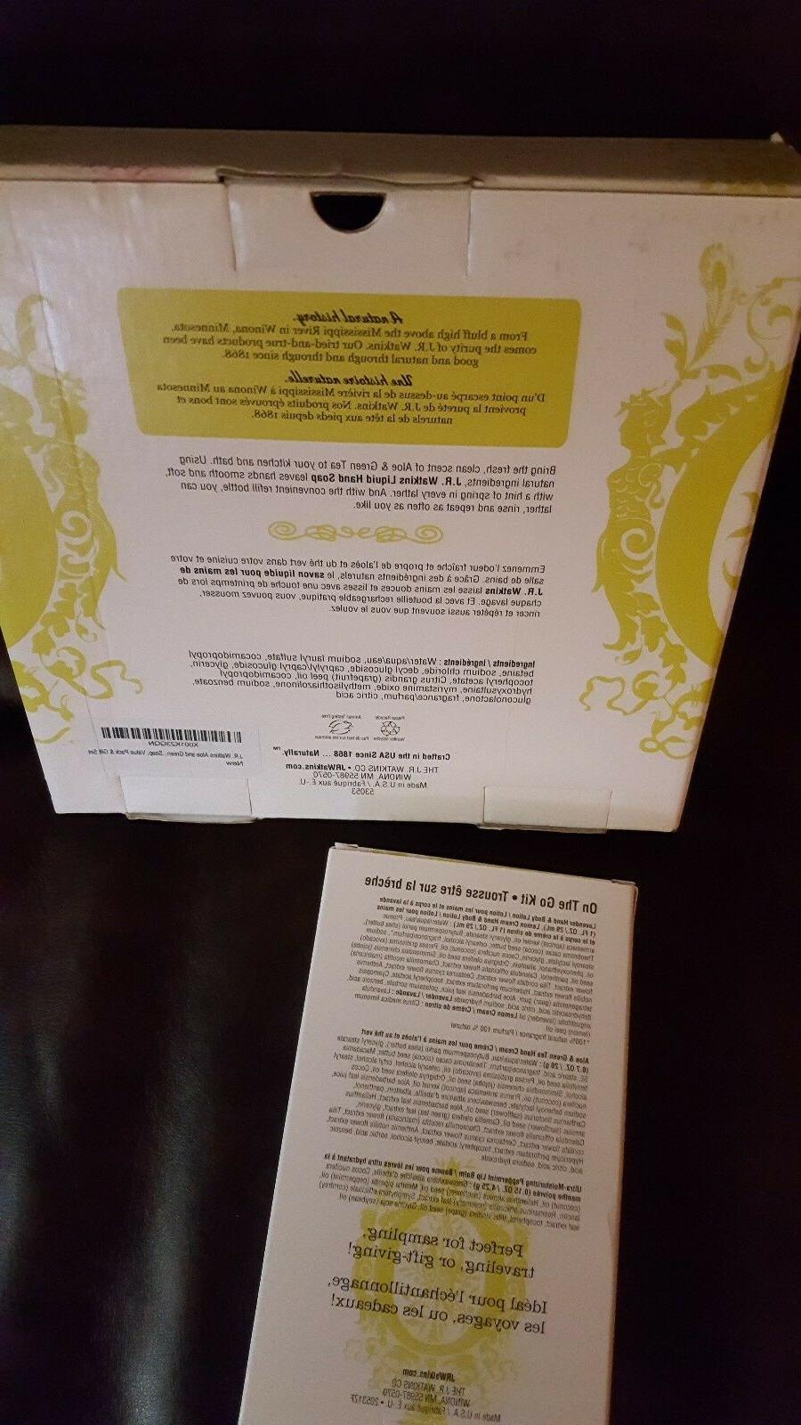 J.R. soap Kit 4 & Aloe