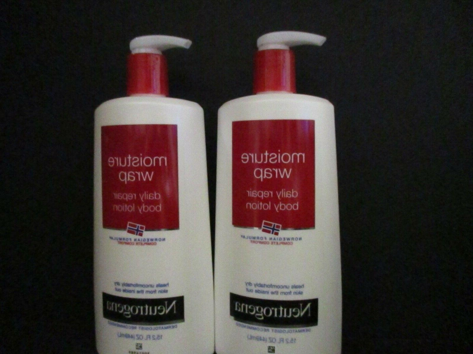 Neutrogena Norwegian Formula Moisture Wrap Daily Repair Body