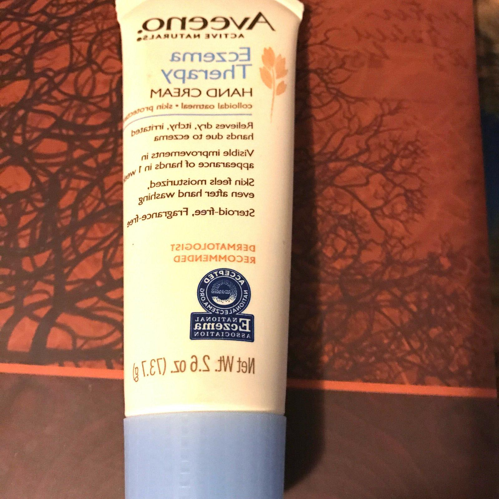 Aveeno Active Naturals Eczema Therapy Hand Cream 2.6 oz
