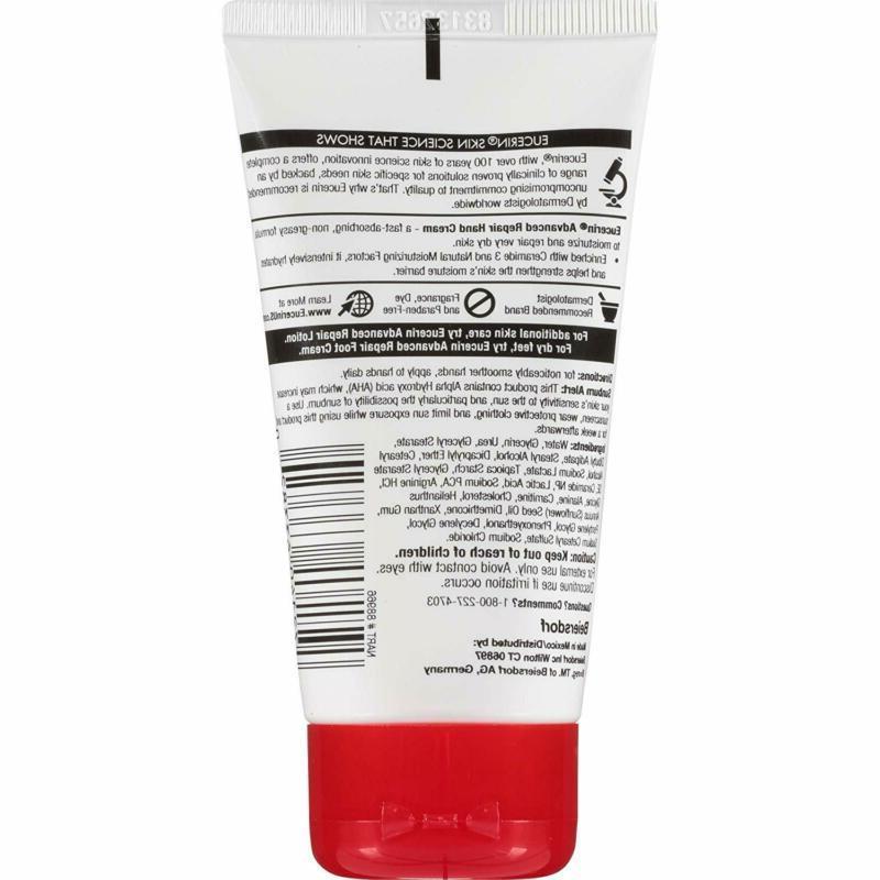 Eucerin Cream Fragrance Free, Hand Dry Sk