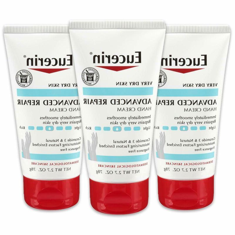 advanced repair hand cream fragrance free hand
