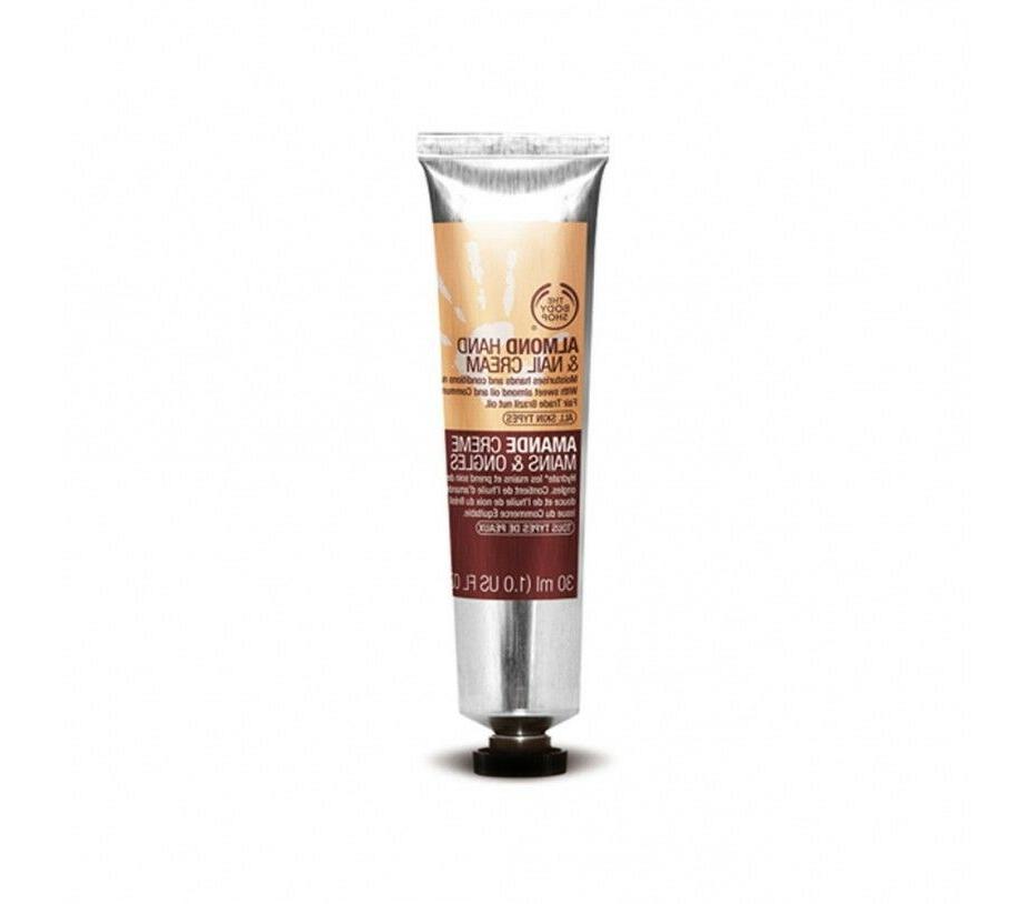 The Body Shop Almond Hand & Nail Cream - 1 oz.
