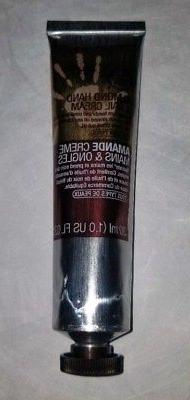 The BODY Shop ALMOND Hand and Nail Cream 30 ml TRAVEL Size 1