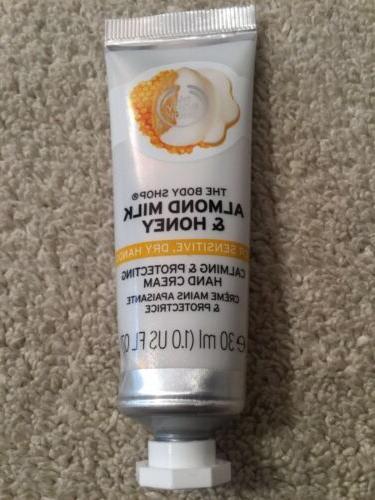 almond milk and honey hand cream 30