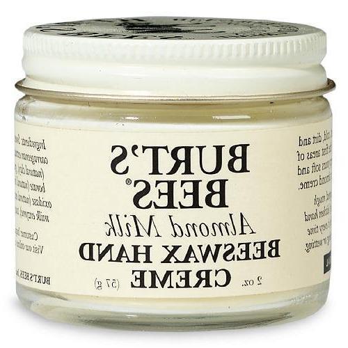 almond milk beeswax hand creme