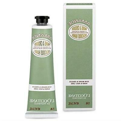 amande hand and nail cream almond delicious