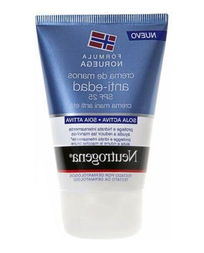 anti aging hand cream norwegian formula spf