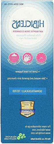 Hibiclens Antimicrobial/Antiseptic Skin Cleanser 8 Fluid Oun