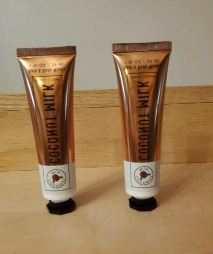 Bath and Set 2 COCONUT MILK Hand Creams FREE