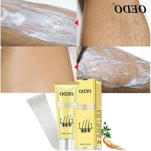 body hair removal natural cream men women